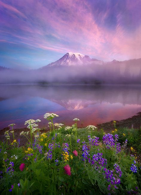 Reflection Lake, Mount Rainier