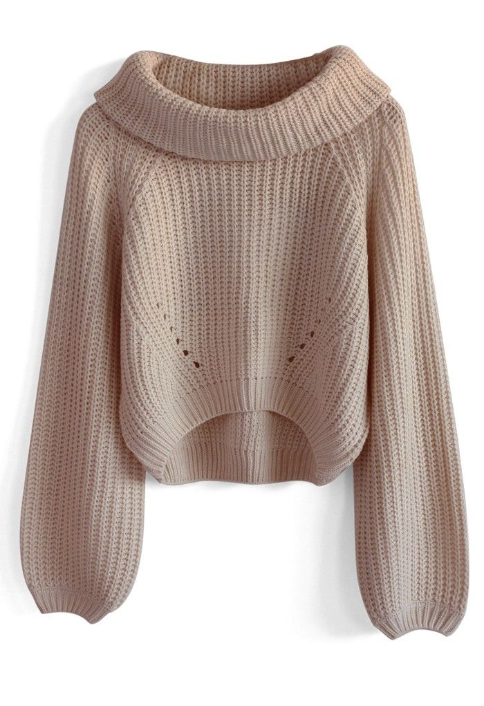 Whimming Turtleneck Sweater in Pink