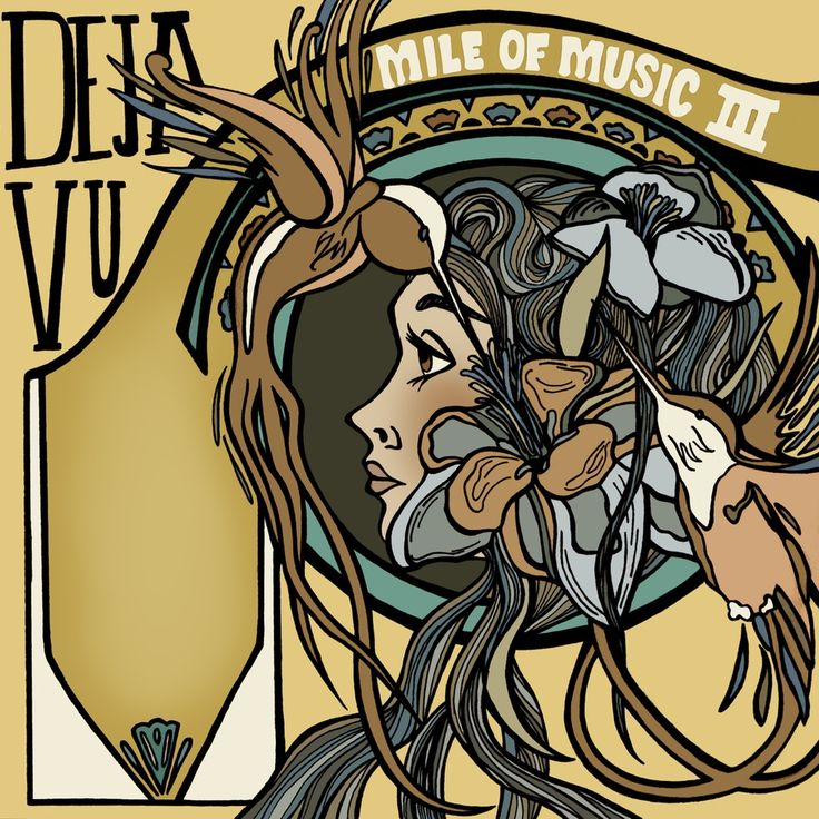 "Image of mile of music 3 poster ""deja vu"""