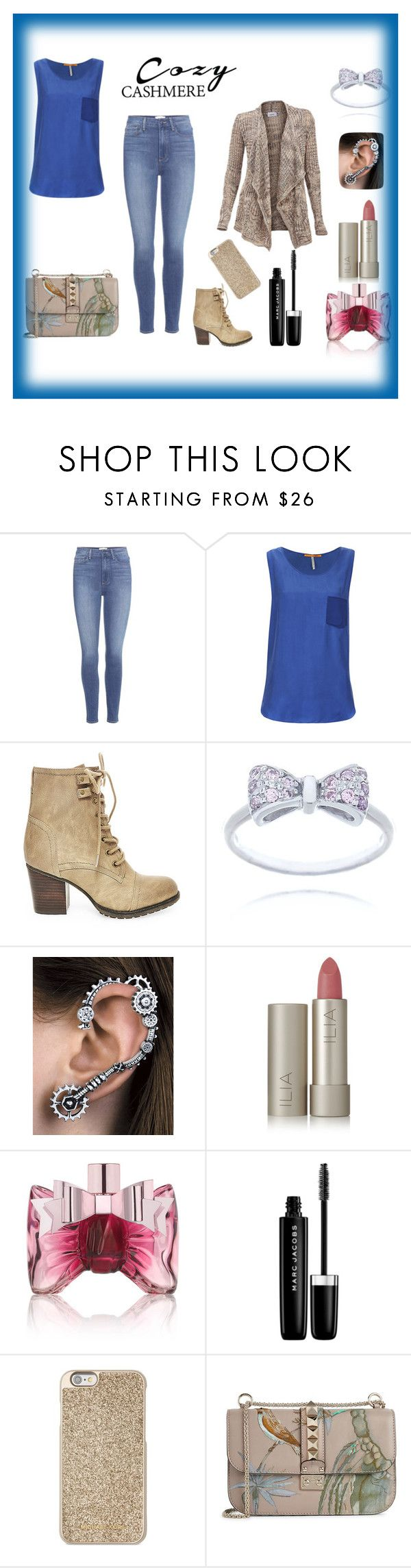 """""""Untitled #6"""" by adela-fashion ❤ liked on Polyvore featuring Paige Denim, BOSS Orange, Steve Madden, Ilia, Viktor & Rolf, Marc Jacobs, Michael Kors and Valentino"""