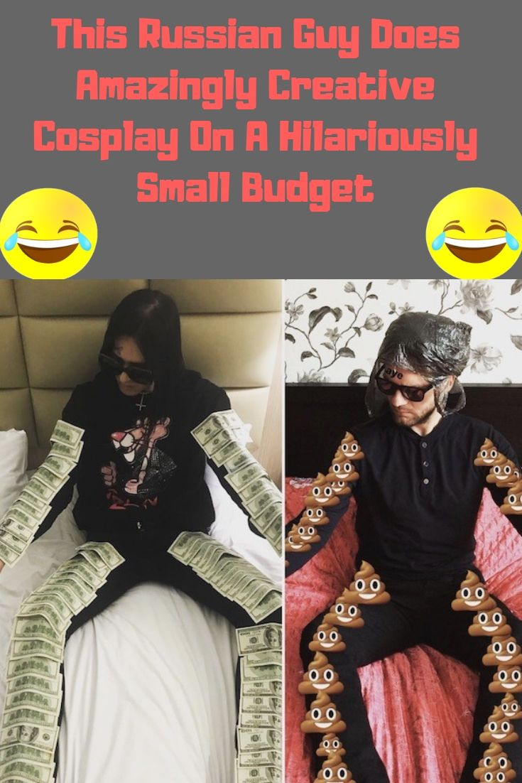 #This #Russian #Guy #Does #Amazingly #Creative #Cosplay #On A #Hilariously #Small #Budget