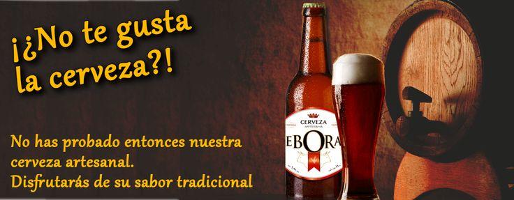 Cerveza artesanal Ebora