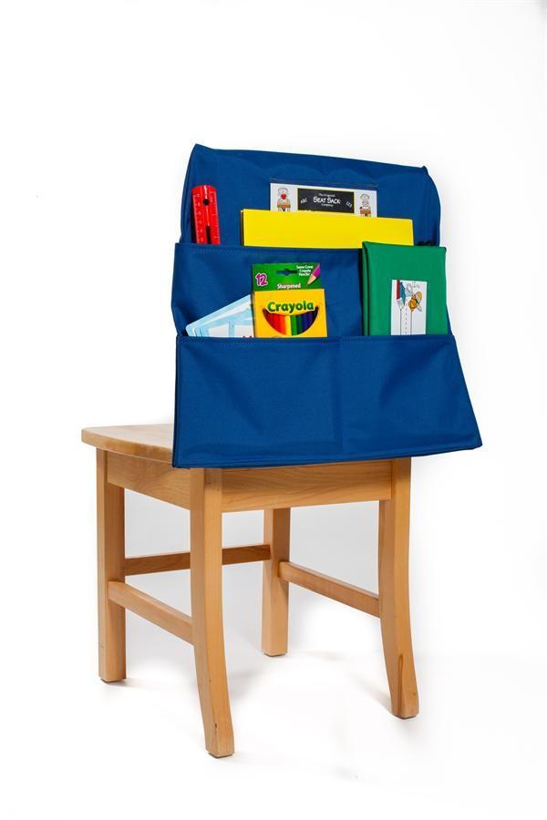 00127 Seat Sack Plus Multi-Pocket Chair Pocket Organizer