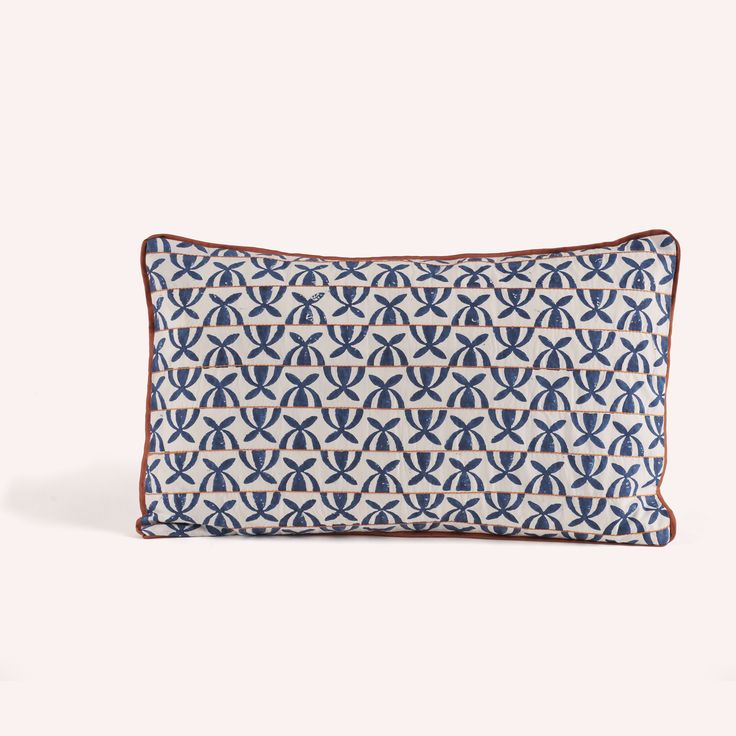 Cushion Cover Persa Blue Flowers