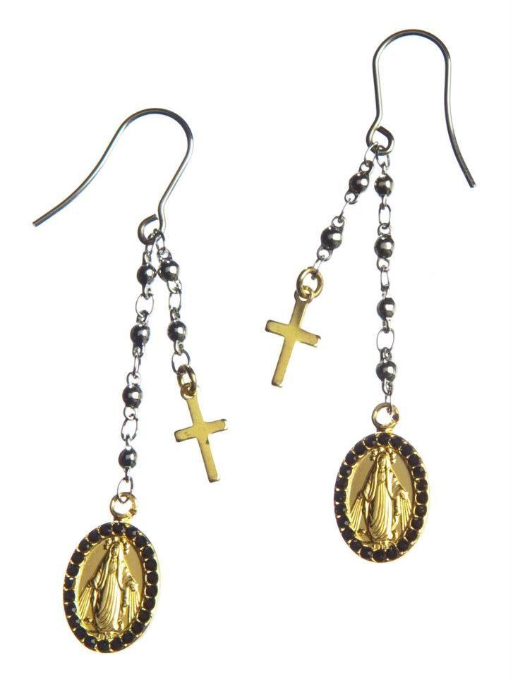 Orecchini Marlù Gioielli collezione Sacral  pendenti Rosario ...
