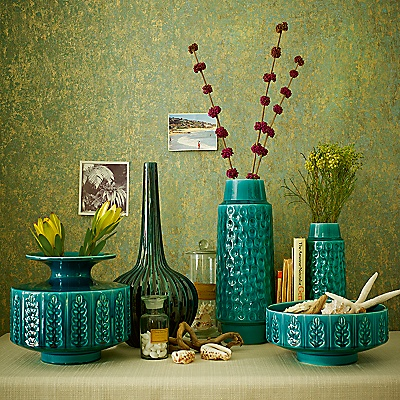 Poole Pottery Abode Dimple Vases
