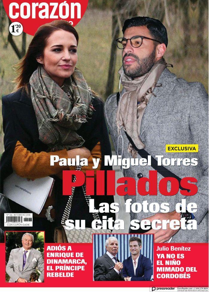[ Paula Echevarría y Miguel Torres - Corazón TVE ]
