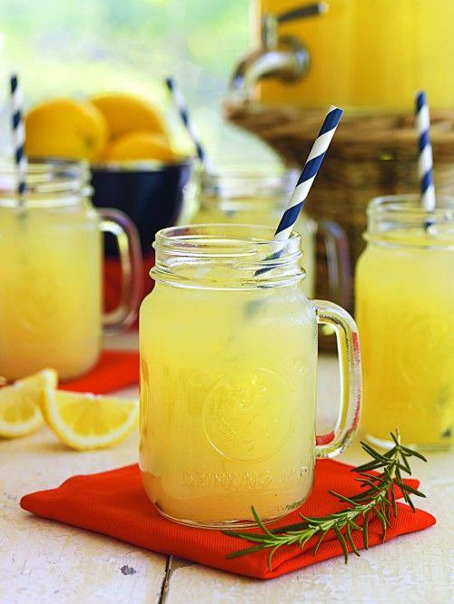 Vanilla Rosemary Lemonade