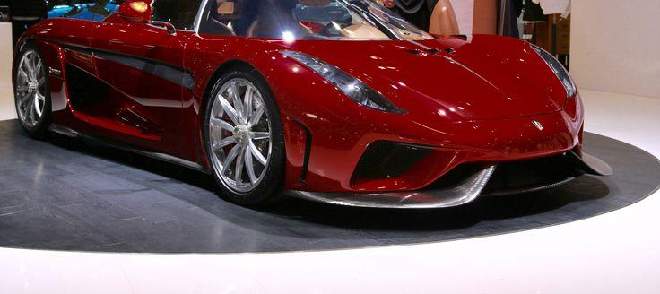 Vanvittige superbiler i Geneve