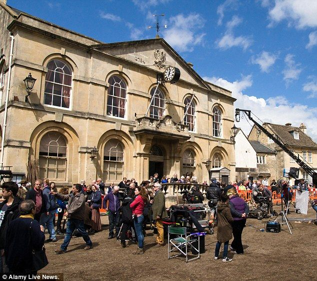 Historic market town of Corsham was restored to some of its previous glory by the BBC team filming Poldark.