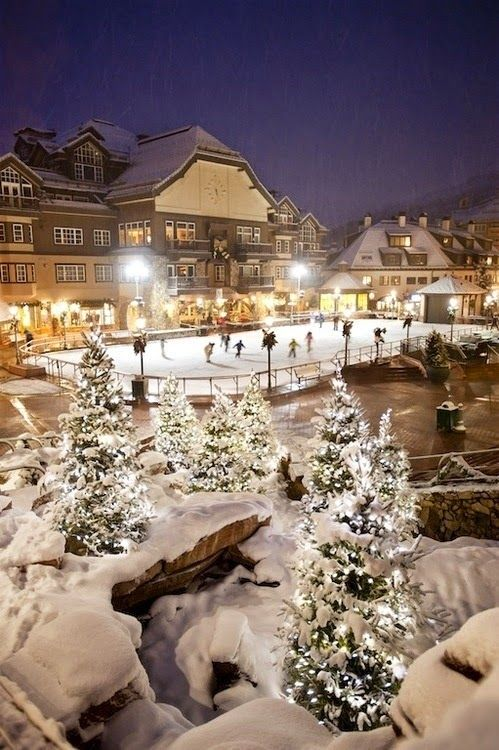 Christmas in Beaver Creek, Colorado                              …