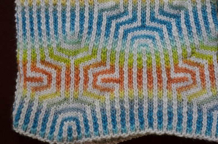 Loose Diamonds - baby blanket  - reversible!