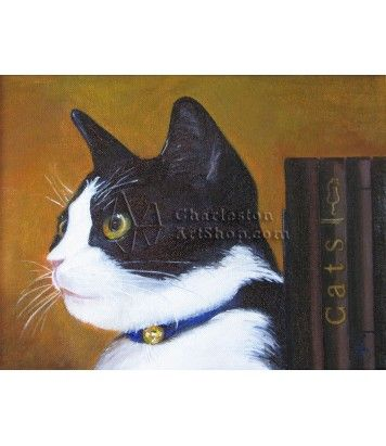 Love this painting! I need one of Cricket!