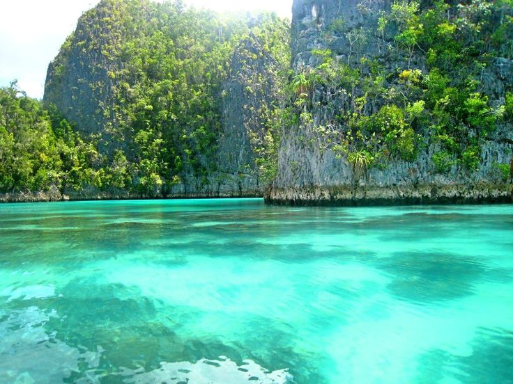 Turquoise lagoons of Raja Ampat