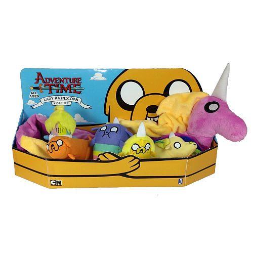 "Adventure Time - Lady Rainicorn Puppies Plush - JazWares, Inc - Toys ""R"" Us"