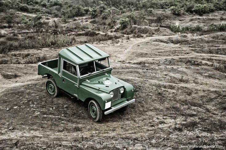 Born Free In a Land Rover: 1957 Series I SWB