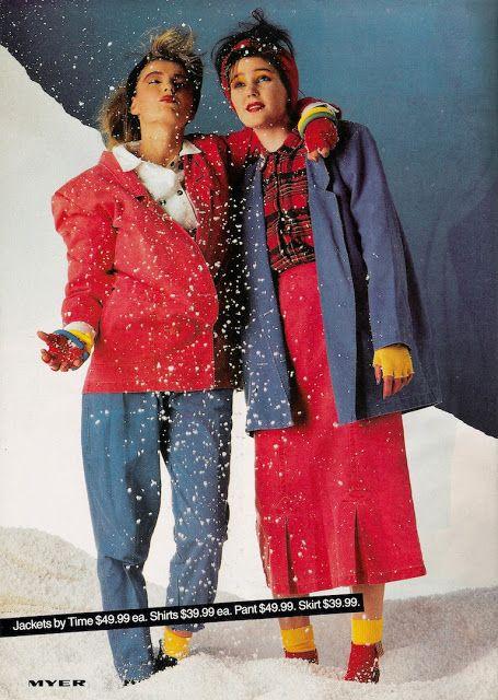 Glossy Sheen: Myer Miss Shop Catalogue - Dolly Magazine May 1985
