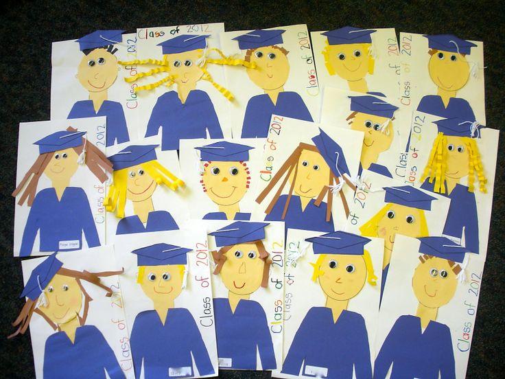 Classroom Decoration Ideas Grade ~ Kinder craze countdown to graduation craft ideas