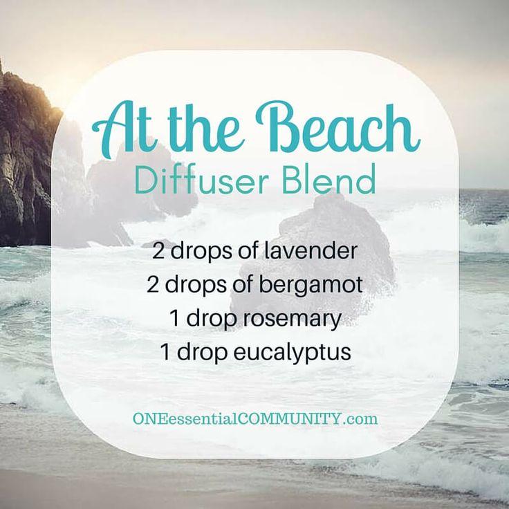 summer essential oil diffuser blends