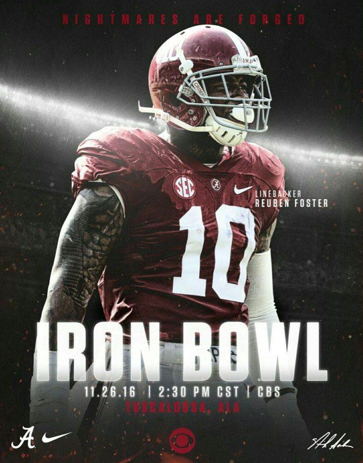 Iron Bowl GAME DAY! #IronBowl #Alabama #RollTide #Bama #BuiltByBama #RTR #CrimsonTide #RammerJammer