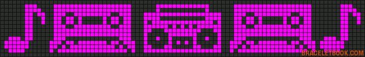 musique - music - radio - point de croix - cross stitch - Blog : http://broderiemimie44.canalblog.com/