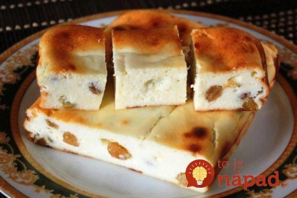 Vynikajúci koláčik s lahodnou chuťou tvarohu, ktorý pripravíte bez väčšej námahy už za pár minút. Osladte si pondelkové popoludnie sladkým dezertom, ktorý vás príjemne naladí na celý týždeň! :-)