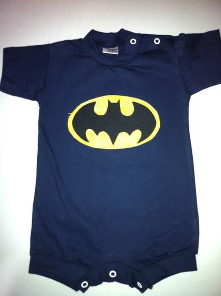 Body Batman - Patchwork | Cantinho da  Ju | 3095C0 - Elo7