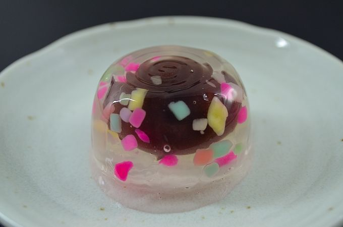 "Japanese Sweets, wagashi, ""water fireworks Suetomi"""
