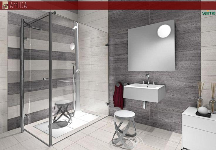 13 migliori immagini rivestimenti bagno su pinterest for Rivestimenti bagni contemporanei