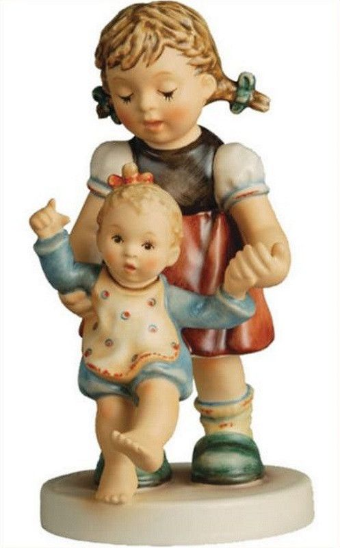 Home Decor | Hummel Figurines Shop today for Hummel Figurine First Steps NEW 5.25 inches Never Removed From Box