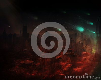 Dramatic Apocalyptic Scenario - Download From Over 52 Million High Quality Stock Photos, Images, Vectors. Sign up for FREE today. Image: 82901338