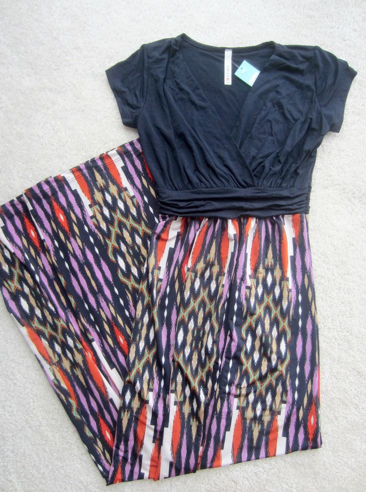 Not much one for maxi dresses but this one looks gorgeous and very versatile, perhaps later in the Spring?