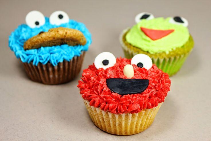 Героите от Улица Сезам / Sesame Street Characters #sesamestreet, #elmo, #kermit, #cookiemonster