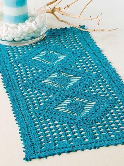 Crochet - Triple Pineapple Doily ༺✿ƬⱤღ  http://www.pinterest.com/teretegui/✿༻