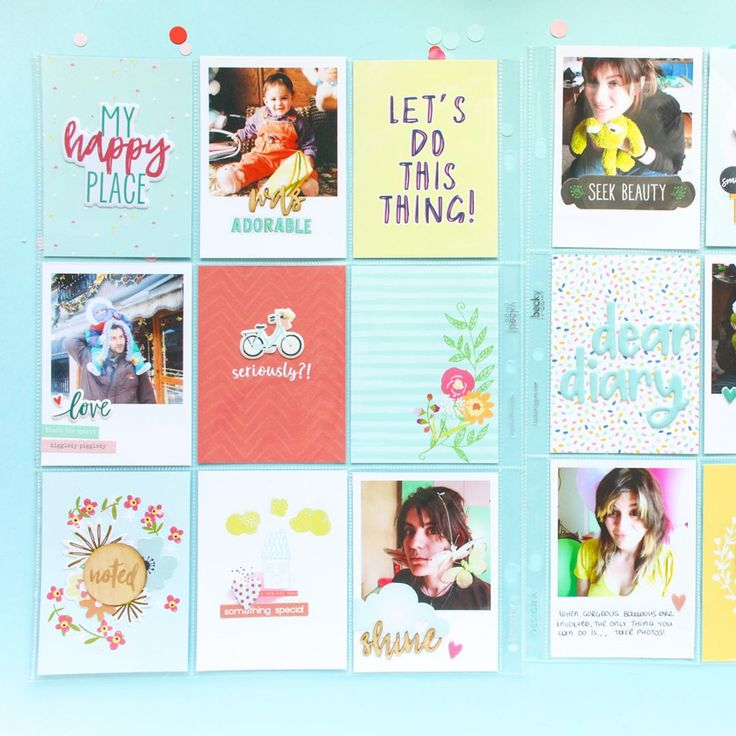 """74 Likes, 1 Comments - Zinia (@abstractinspiration) on Instagram: """"I'm starting a brand new project! Getting back to pocket page scrapbooking, I decided to take a…"""""""
