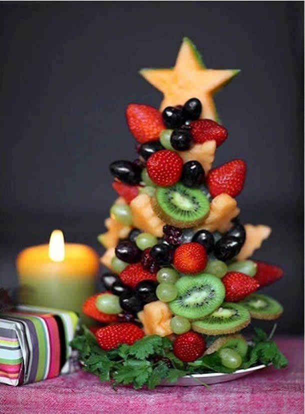 Eccovi alcuni suggerimenti per addobbare i piatti da portata nelle feste natalizie. 30 idee da cui prendere spunto per rallegrare e colorare la vostra tavo