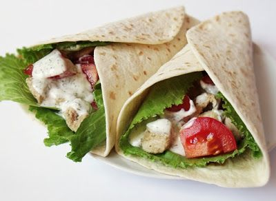 Citromhab: Csirkehúsos tortilla