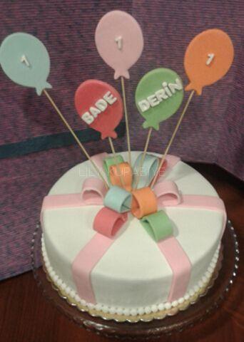 Gift package cake, Hediye paketi pasta