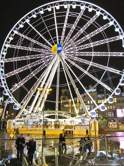 The Wheel Of Manchester, England. I'm going to miss this and the City Centre.