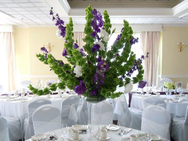 13 best bells of ireland images on pinterest green flowers tall centerpiece bells ireland purple white lisianthus best free home design idea inspiration junglespirit Images