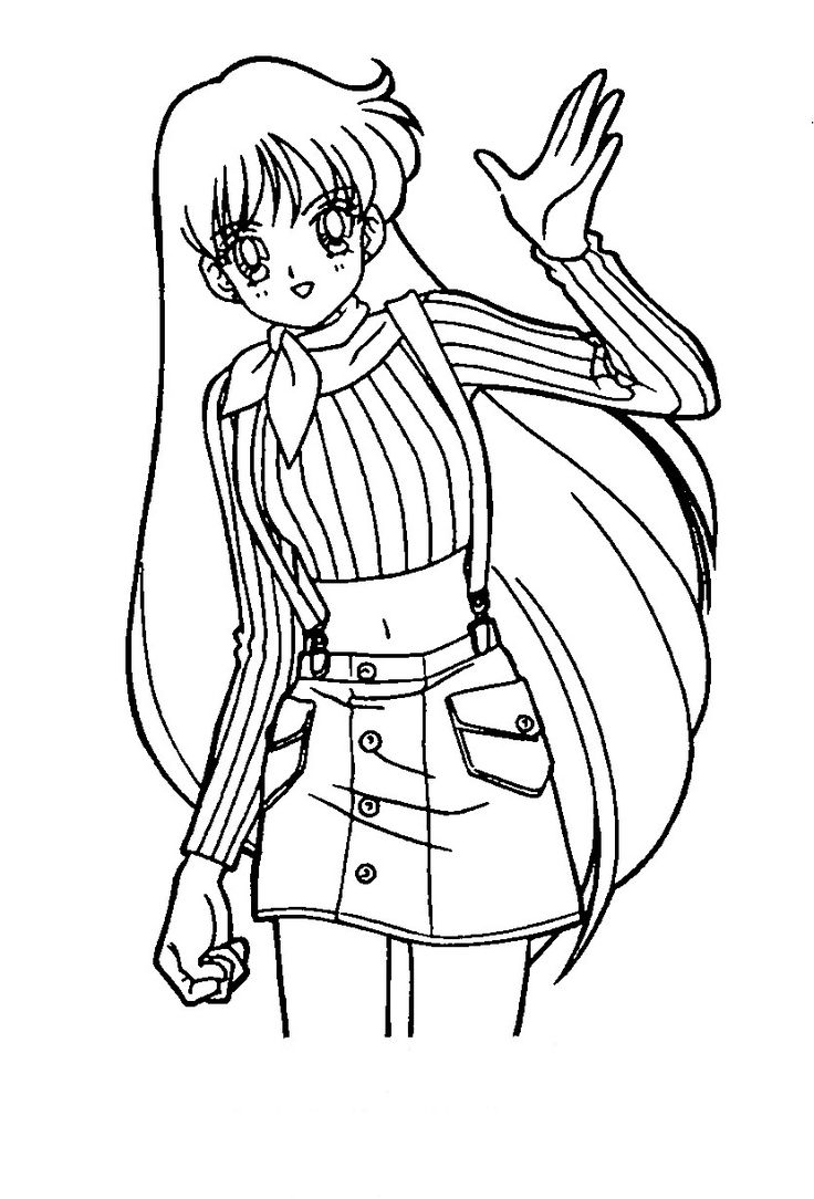 dessins gratuits colorier coloriage fille manga imprimer avec coloriage fillemanga 5 et dessin ...