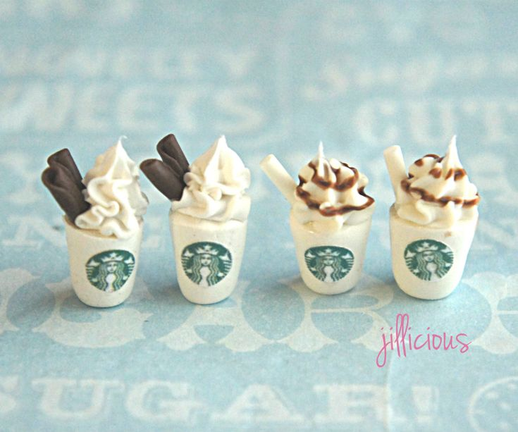 It's official. Have now seen everything: starbucks stud earrings #coffee. I must own these.