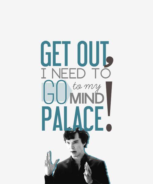 Whatever you said, Sherlock.