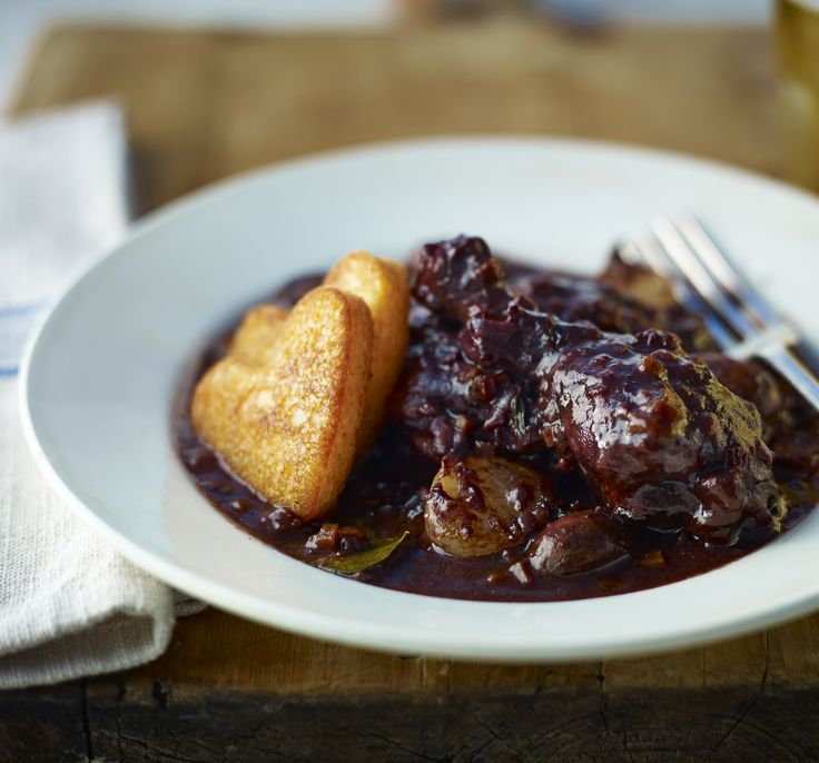 This recipe for coq au vin emphasises the rustic charm and comforting flavour of classic French food