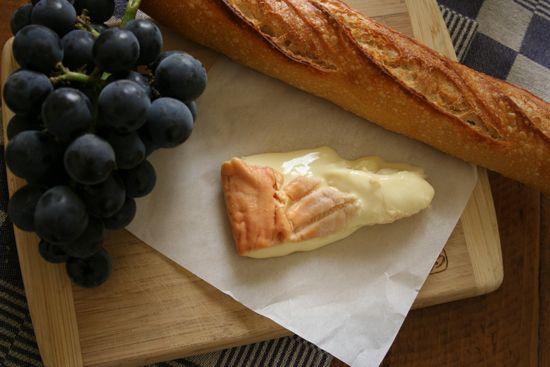 This is not a recipe - just yummy Epoisses Cheese. Very strong, very stinky, and I loooooooooove it!