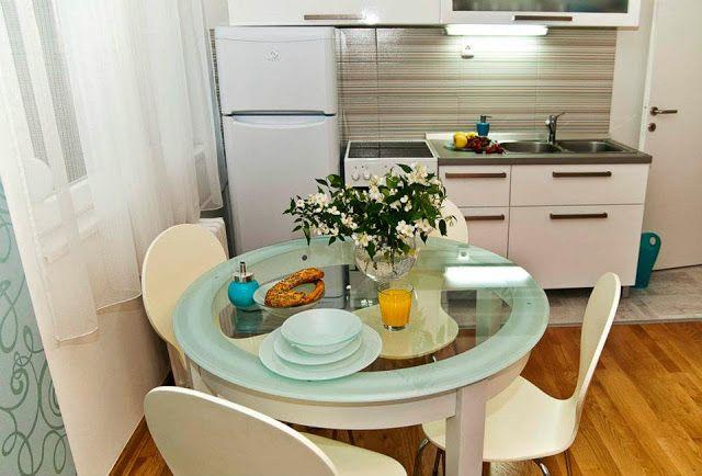 Apartamento decorado para uma família: lindo e bem distribuído