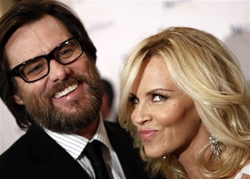 Jim Carrey and Jenny McCarthy, 2009