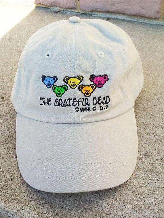 27ebc91633dac Grateful Dead Hat Baseball Cap. Dancing Bears Dad Deadhead