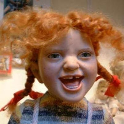 red hair scary doll creepy dolls ginger kids dolls