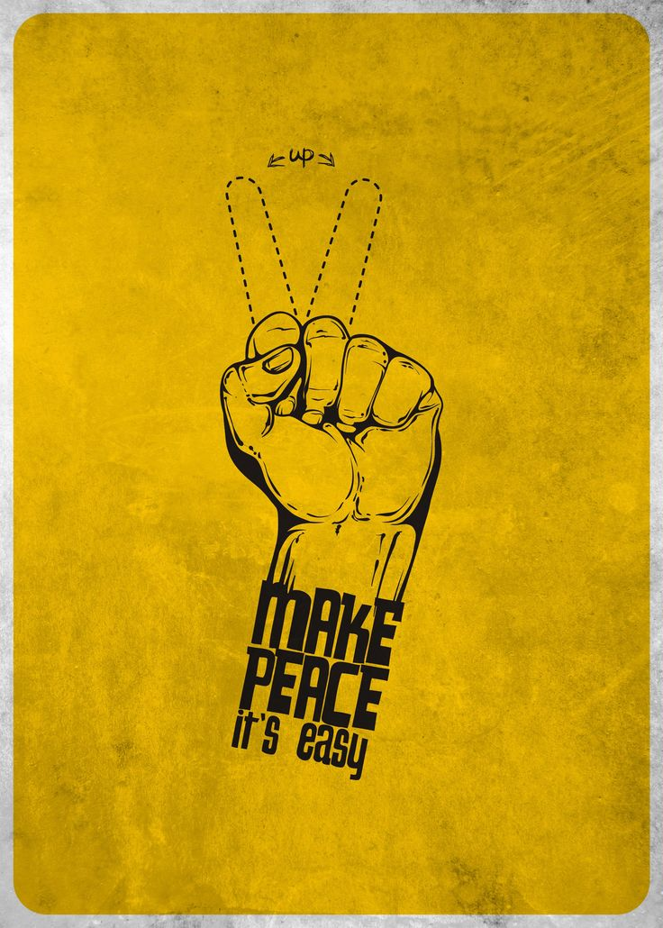 Make peace it's easy!! by Alejandro Ayala